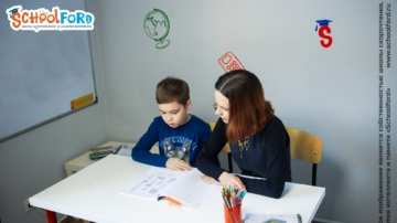 Занятия у детского логопеда в школе Schoolford. Фото №5