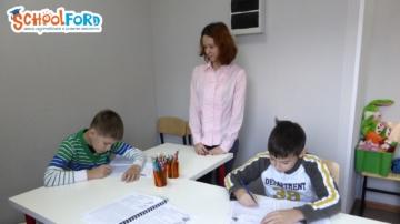 Занятия на курсе «Каллиграфия и развитие интеллекта». Фото №6